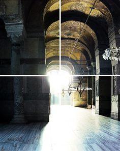 Ola Kolehmainen - Hagia Sophia year 537 IV 2014. C-print, diasec, quadrirtych, ed. 3/4 232x182cm