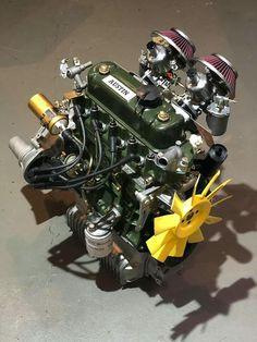 Mini Cooper Classic, Classic Mini, Classic Cars, Old Key Crafts, Man Gear, Minis, New Engine, Mini Things, Small Cars