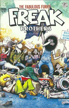 Cover for The Fabulous Furry Freak Brothers (Rip Off Press, 1971 series) #13