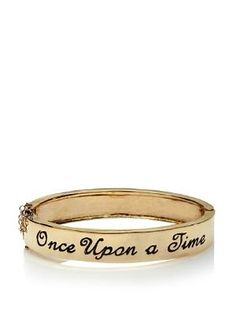to remind me never to stop believing in fairy tales. BoyNYC Gold Once Upon A Time Bangle at MYHABIT