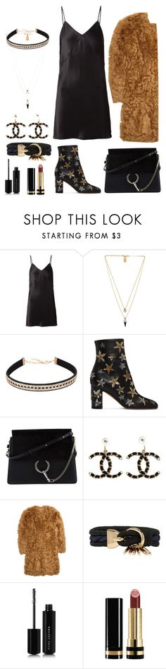 """street  style #55: Gucci bag"" by veronicagnzlz ❤ liked on Polyvore featuring Fleur du Mal, Lionette, Valentino, Chloé, Chanel, Burberry, Marc Jacobs and Gucci"