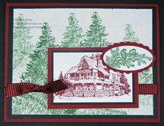 Christmas Lodge Stampin' Up!s Faux Silk