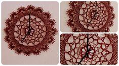 Häkeldeckchen Uhr * DIY * Crochet Clock [eng sub]