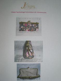 EBook  Bügeltaschen Schminkbox Nähen Anleitung  von Leinen-Traum auf DaWanda.com Etsy, Cover, Hand Sewn, Antiquities, Linen Fabric, Fabrics, Tutorials, Bags