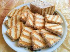 Egyszerű karamellkrémes csíkos szelet - sütés nélkül recept lépés 6 foto Creative Cakes, Creative Food, Hungarian Desserts, Cookie Recipes, Dessert Recipes, Sweet Cakes, Dessert Bars, No Bake Cake, Sweet Recipes