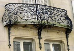 Immeuble 12, rue Sédillot Paris 7e  Jules Lavirotte architecte  1899.