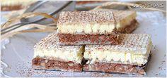 wafelek-knoppers-2 Cream Cheese Flan, Polish Recipes, Polish Food, Homemade Cakes, Kefir, Vanilla Cake, Nutella, Tiramisu, Healthy Recipes