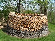 Cool wood pile @Jody Trapp, tell Tim this is what he can do with his wood collection..lol