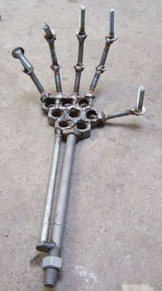 Welding project... Except maybe make the whole skeleton?  for when you need a hand around the shop?!?
