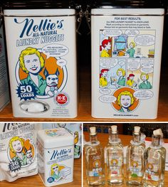 Nellie's - Ha ha! This would make doing laundry fun.
