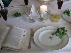 Busy with Blessings: A Christian Seder Supper ~