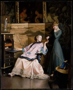William McGregor Paxton, The New Necklace, 1910 - William McGregor Paxton - Wikipedia, the free encyclopedia