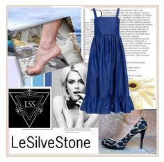 """LeSilveStone 3"" by damira-dlxv ❤ liked on Polyvore featuring Balmain and CO"