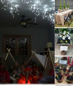 camping party ideas | Camping Party Ideas