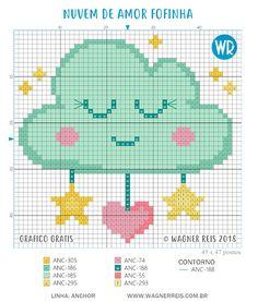 ru / Фото - Cross-Stitch and Needlework - tymannost Baby Cross Stitch Patterns, Cross Stitch For Kids, Just Cross Stitch, Cross Stitch Baby, Embroidery Art, Cross Stitch Embroidery, Embroidery Patterns, Modern Embroidery, Needlepoint Designs