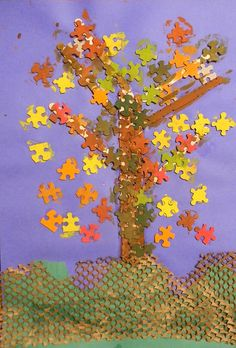 fall tree grade 1 by mermaidsandjellybeans, via Flickr