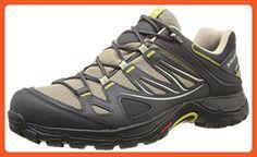 Salomon Women's Ellipse GTX Hiking Shoe, Thyme/Asphalt/Dark Green, 8 M US - Outdoor shoes for women (*Amazon Partner-Link)