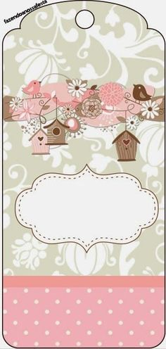 Ideas Vintage Imagenes Para Imprimir For 2019 Christmas Printables, Party Printables, Free Printables, Diy And Crafts, Paper Crafts, Printable Tags, Kirigami, Monogram Letters, Gift Tags