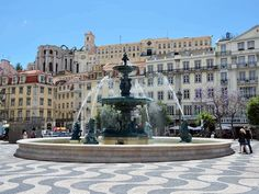 People who have been to Lisbon say the city is the jewel of Portugal. Detailed Itinerary 3 days in Lisbon, Portugal Algarve, Commercial Street, Portugal Travel, Countries Of The World, Places Ive Been, The Good Place, Madrid, Places To Visit, Pictures