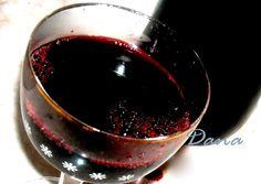 Danina kuhinja: Sirup od crne ribizle sa crnim vinom