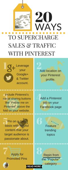 Driving traffic back to your website or into your stores will lead to new sales transactions. That is what Pinterest does shockingly well from a business perspective. Here are 20 things to do right now and start making money on this discovery tool site http://www.whiteglovesocialmedia.com/how-does-pinterest-pinning-lead-to-sales-for-businesses-see-case-studies/ | Pinterest tips for business by Pinterest marketing expert Anna Bennett