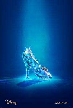 Zapato de cristal. Cenicienta.