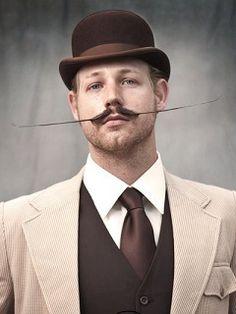 A Movember Gentleman