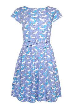 Majestic and magical Unicorn dress from Thunder Egg! www.thunderegg.co.uk