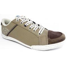 Lindo e confortável sapatênis em couro marrom Kidy.  Em promoção por R$ 65,40. Aproveite!