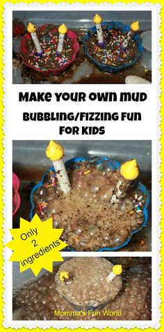 Momma's Fun World: Make your own mud pie science not using mud Preschool Science, Craft Activities For Kids, Science For Kids, Preschool Crafts, Toddler Activities, Crafts For Kids, Preschool Weather, Science Fun, Science Ideas