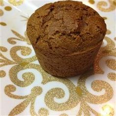 Gingerbread-Pear Muffins - replaced white sugar with coconut sugar, buttermilk with coconut milk