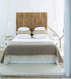 cabecero-de-cama-hecho-de-cañas-de-bambu