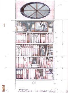 """Boceto de escenografía: """"La Avería"""". Premio Max 2011. Sketches"""