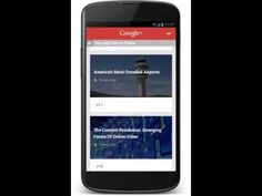 Google Launches Content Recommendation Engine For Mobile Sites, Powered By Google+