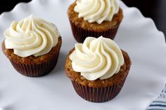 Oh megan you are not good for my diet lol Carrot Cake Cupcakes