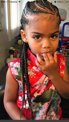 Braids little girl