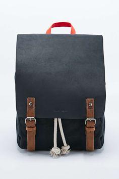 Forbes & Lewis Devon Backpack in Black