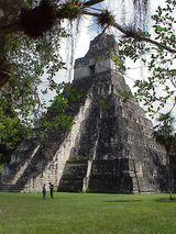 Ancient Mayan Pyramid- Guatemala