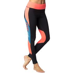 4c8c0787358f8 active legging, fox racing, color block, sporty legging, athleisure Fox Head ,