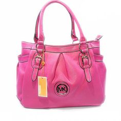 Michael Kors Logo Signature Large Rose Tote