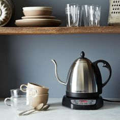 Bonavita Gooseneck Electric Variable Temperature Kettle.
