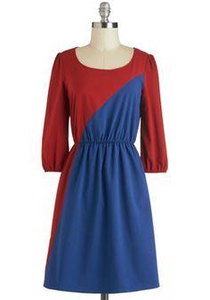 Favoritism for Minimalism Dress~ Modcloth