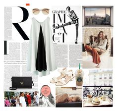 """""""I am an insecure mess"""" by taspxa ❤ liked on Polyvore featuring Radcliffe, Witchery, Topshop, Prada, Sessions and Komar"""