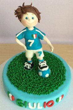 Baby italian footballer by Carla Poggianti Il Bianconiglio