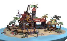 ArtStation - Beach House, Arthur Sarah Gonçalves