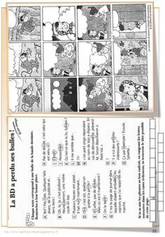 français : du dialogue à la bande dessinée - cycle 3 - partie 2 la bande-dessinée Cycle 3, France, Photo Wall, Reading, School, Architecture, Teachers, Comics, Arquitetura