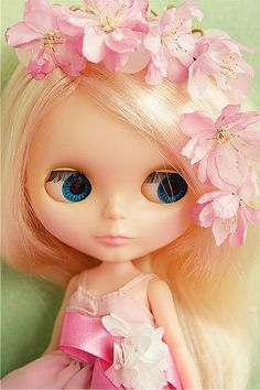 Blythe 1972  Kenner Blonde  by euniceeva, via Flickr