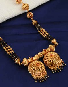 Latest Long Mangalsutra Designs: Fancy Diamond Mangalsutra for Women Online Gold Mangalsutra Designs, Diamond Mangalsutra, Gold Jewellery Design, Jewelry Art, Fashion Jewelry, Silver Jewelry, Silver Earrings, Gold Necklace, Women's Fashion