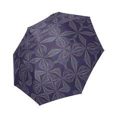 PURPLE PUZZLE Foldable Umbrella