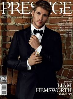 Guys in suits. >>>  Liam Hemsworth in a suit. >>>>>>>